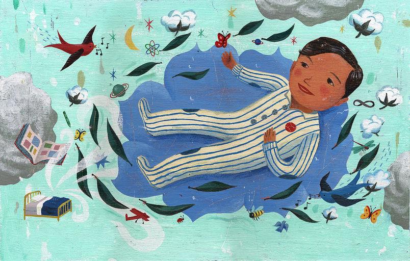 Gracias/Thanks For My Old Pajamas, 2009acrílica sobre placa de ilustração40,7 X 22,8 cm