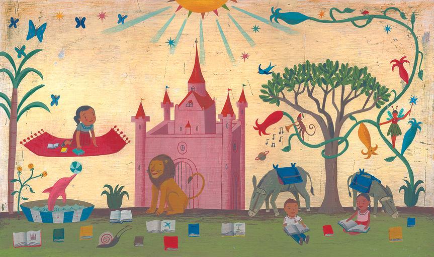 My Flying Carpet, 2011acrílica sobre placa de ilustração48,2 X 28 cm