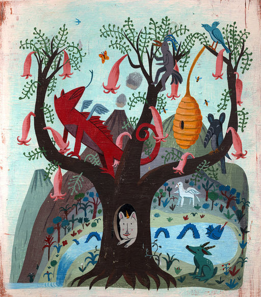 The Imagination Tree, 2012Impressão fineart em papel matte30,5 X 38,1 cm