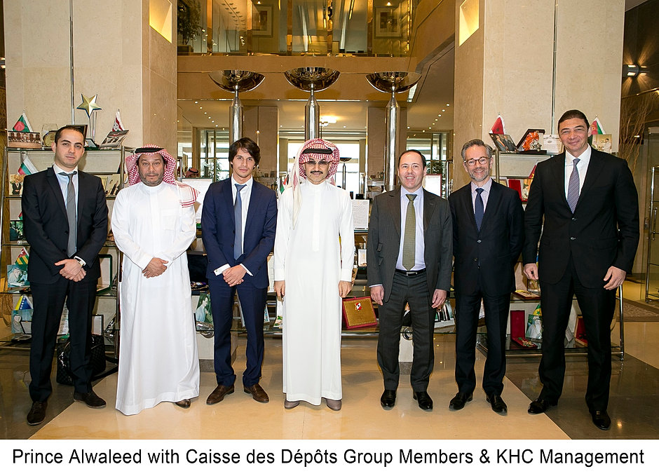Prince-Alwaleed-with-Caisse-des-Dépôts-Group-Members-KHC-Management-June-2014-E.