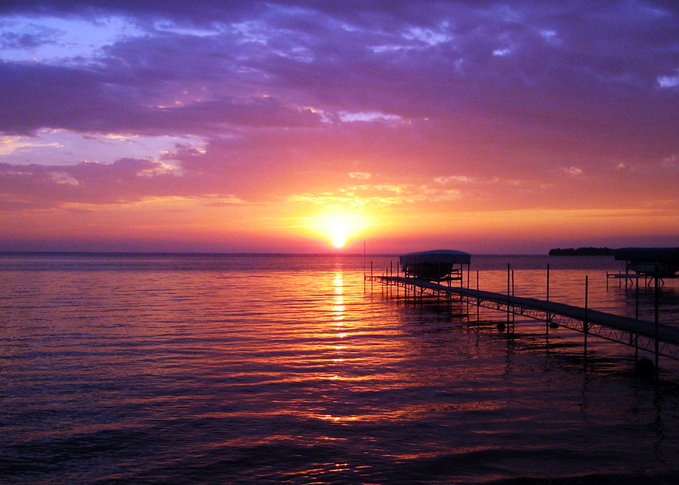 Sunset Bay Getaway Vacation Rental On Mille Lacs Lake