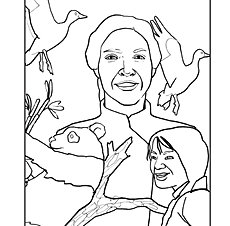 coloring pages gladys aylward - photo#13