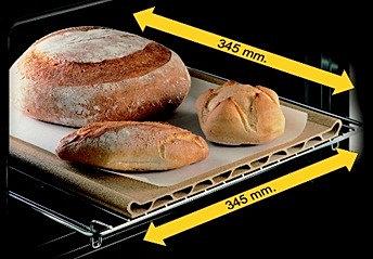 Pietra da forno pepita la refrattaria per la pizza nel forno di casa - Pietra refrattaria da forno ...