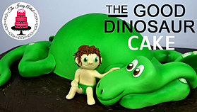 The icing artist tutorials for 3d dinosaur cake template