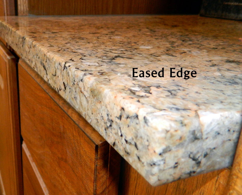 Countertop Eased Edge : Cherrywood Ranch Just pleted And For Sale further Custom Countertop ...