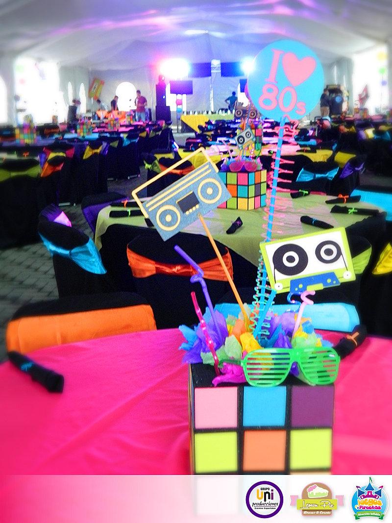 uniproducciones eventos especiales decoraci n 80 39 s