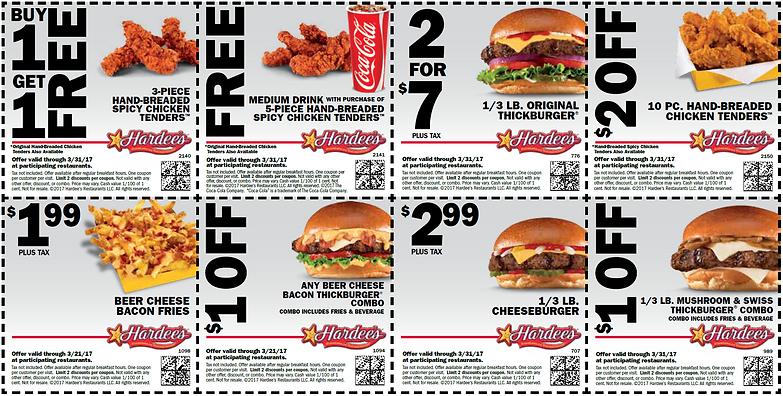 Hardees breakfast coupons