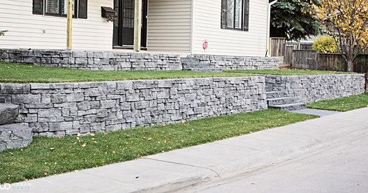 Landscaping Bricks Calgary : Urban oasis calgary landscape design