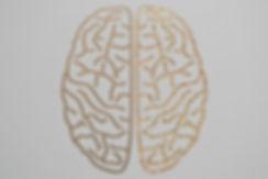glitter brain | matte gold foil | glitter gold foil