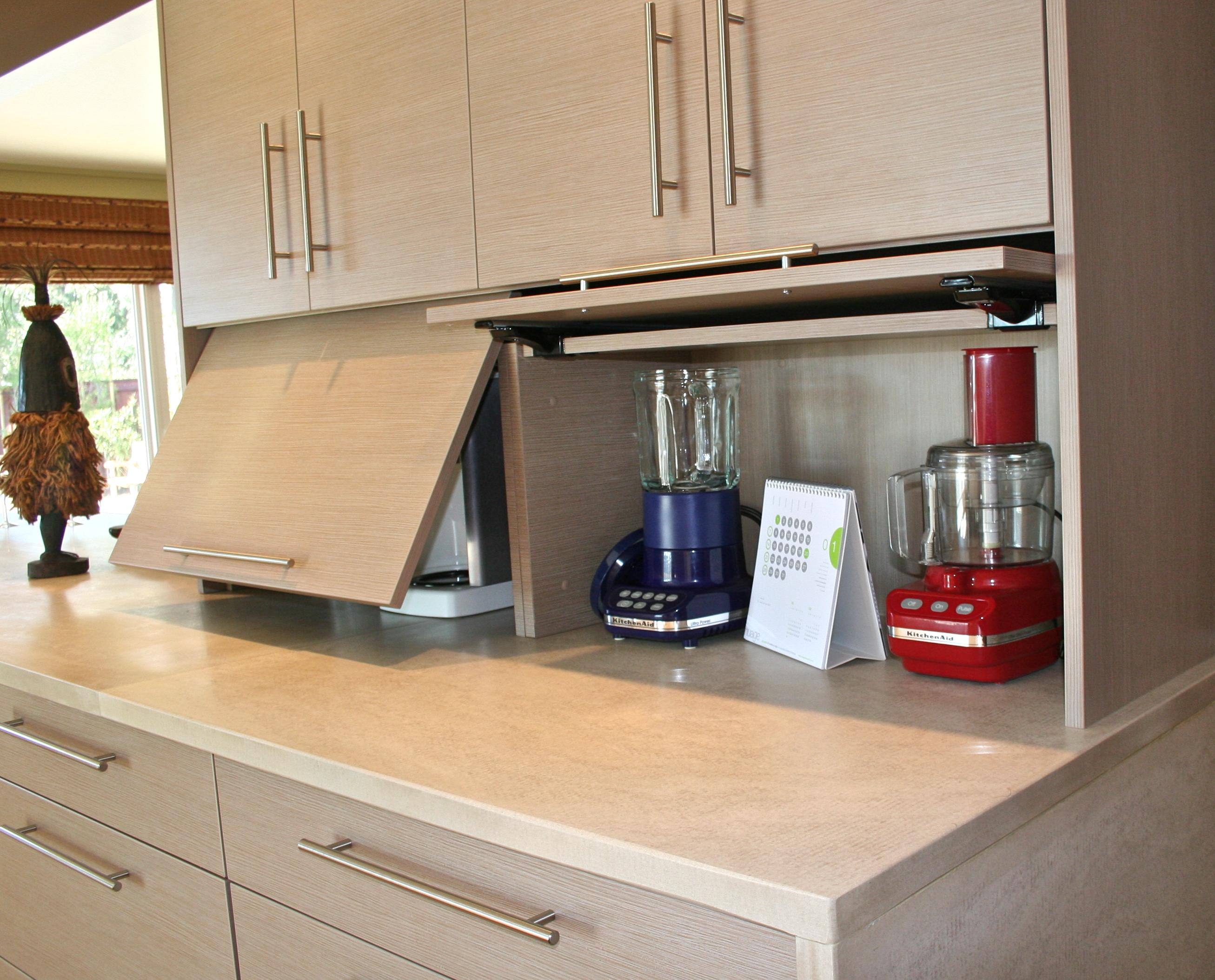 Kitchen Garage Door Hardware : Alucina design studio appliance garage