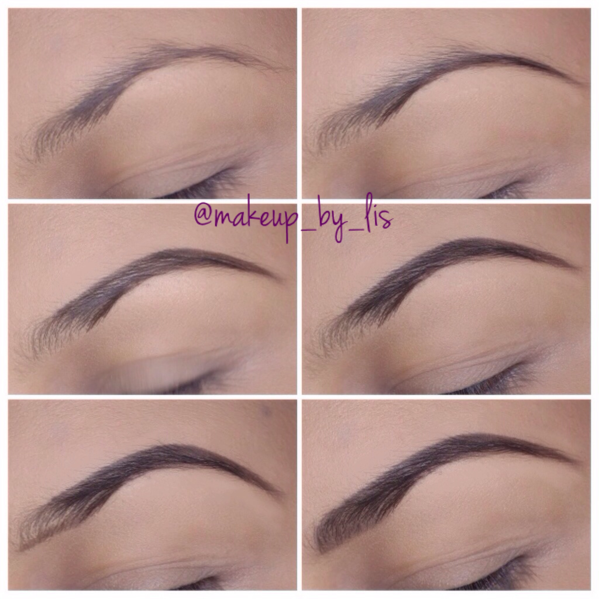 Easy Step By Step Eyebrow Tutorial Makeup By Lis Puerto Rico