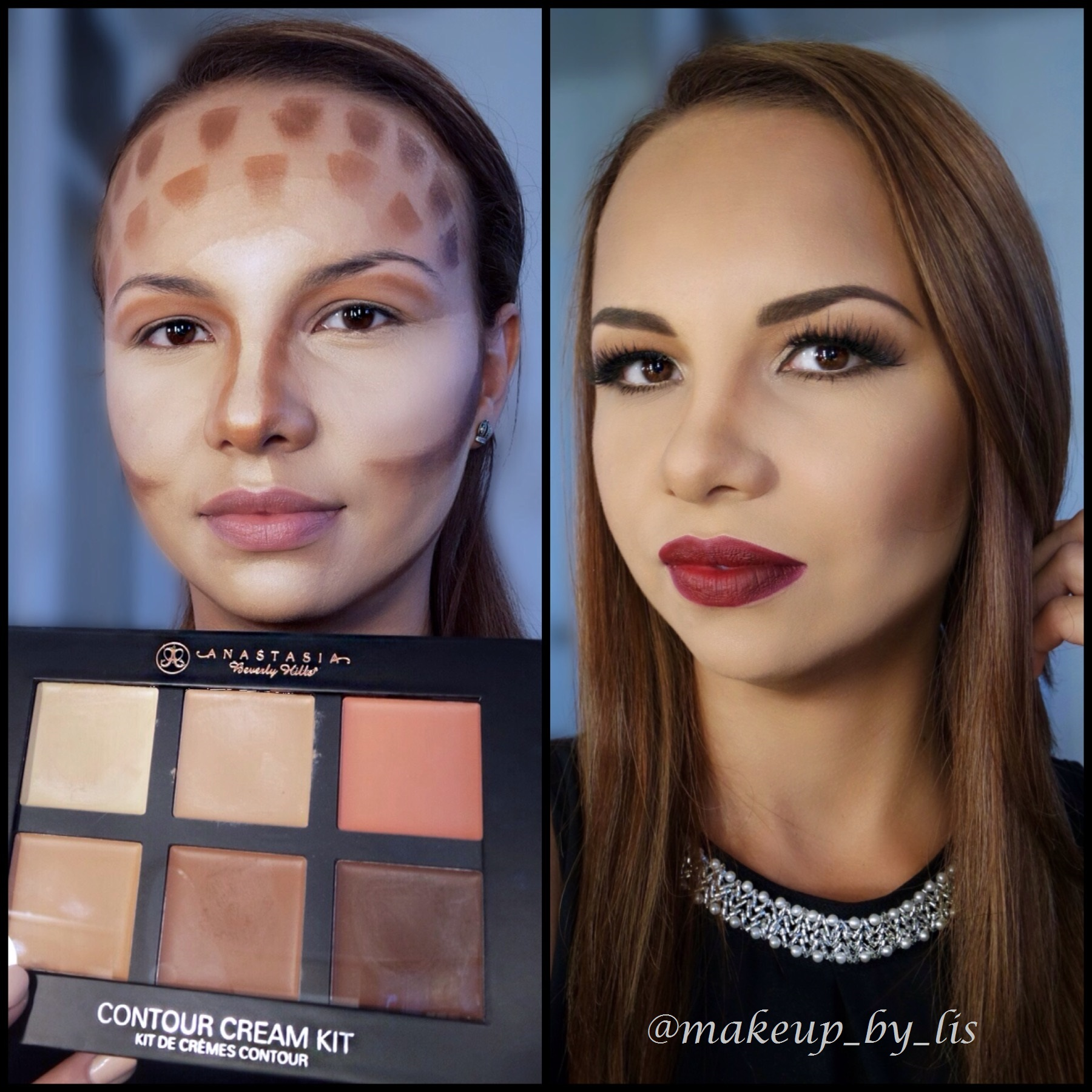 cream contour kit for oily skin