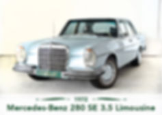 Mercedes Benz 280 SE 3.5 Limousine