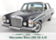 Mercedes Benz 280 SE 4,5l
