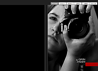 Photographer Book Template - Unique and easy to navigate, this stunning template has a book layout with page turning transitions and is waiting for you to promote your work. With two galleries on a grey background it will show your work in the best light possible.