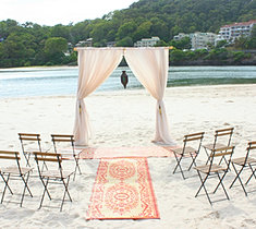 Gold Coast Wedding Event Hire Decor Beach Wedding Hire