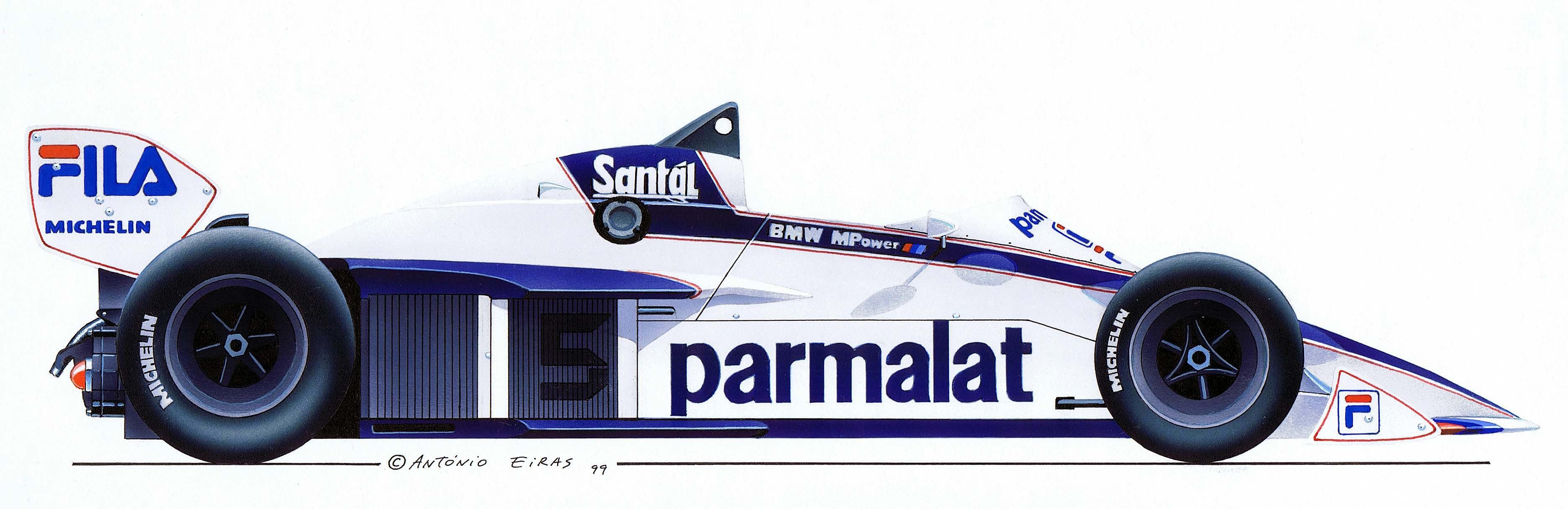 António Eiras | Brabham BT51-BMW