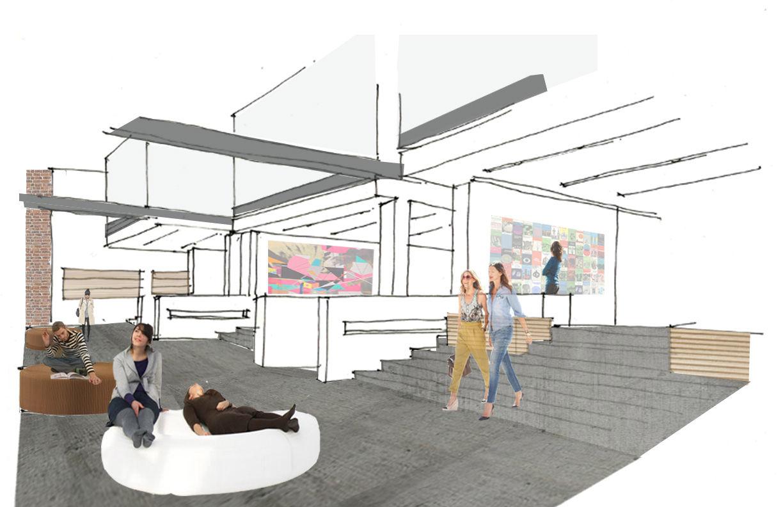 Exhibition Booth Area : Kaylie seeton interior design portfolio wix