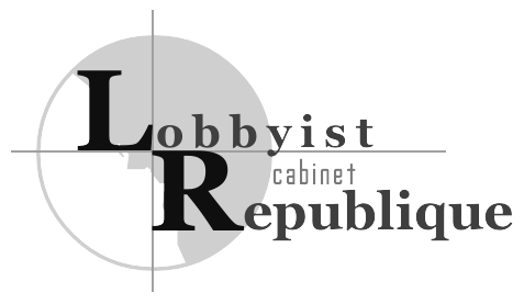 cabinet lobbyist republique cabinet de lobbying n gociations partenariats financiers entre l. Black Bedroom Furniture Sets. Home Design Ideas