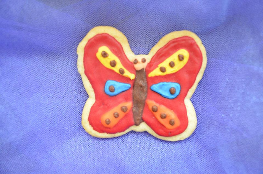 Galleta de mariposa