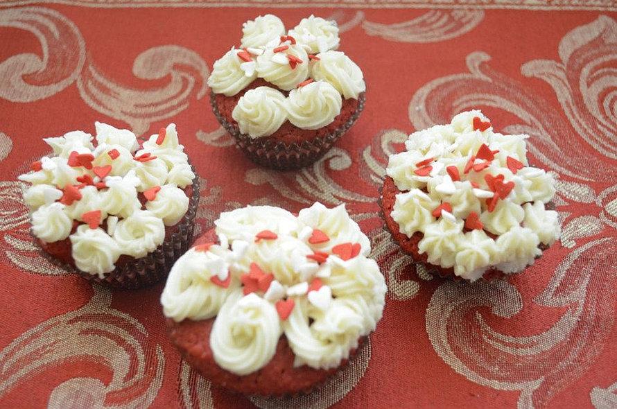 cup cakes de Red Velvet