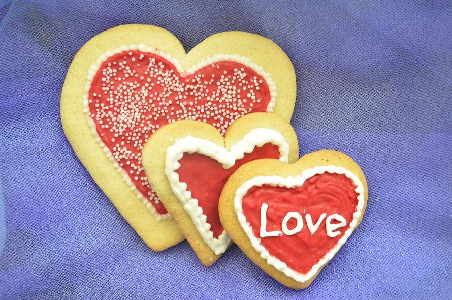 Galletas para enamorados