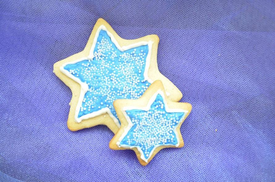 Galletas de estrellas