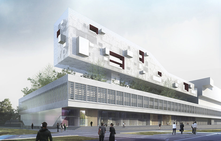 Air architectures for Appart hotel meaux