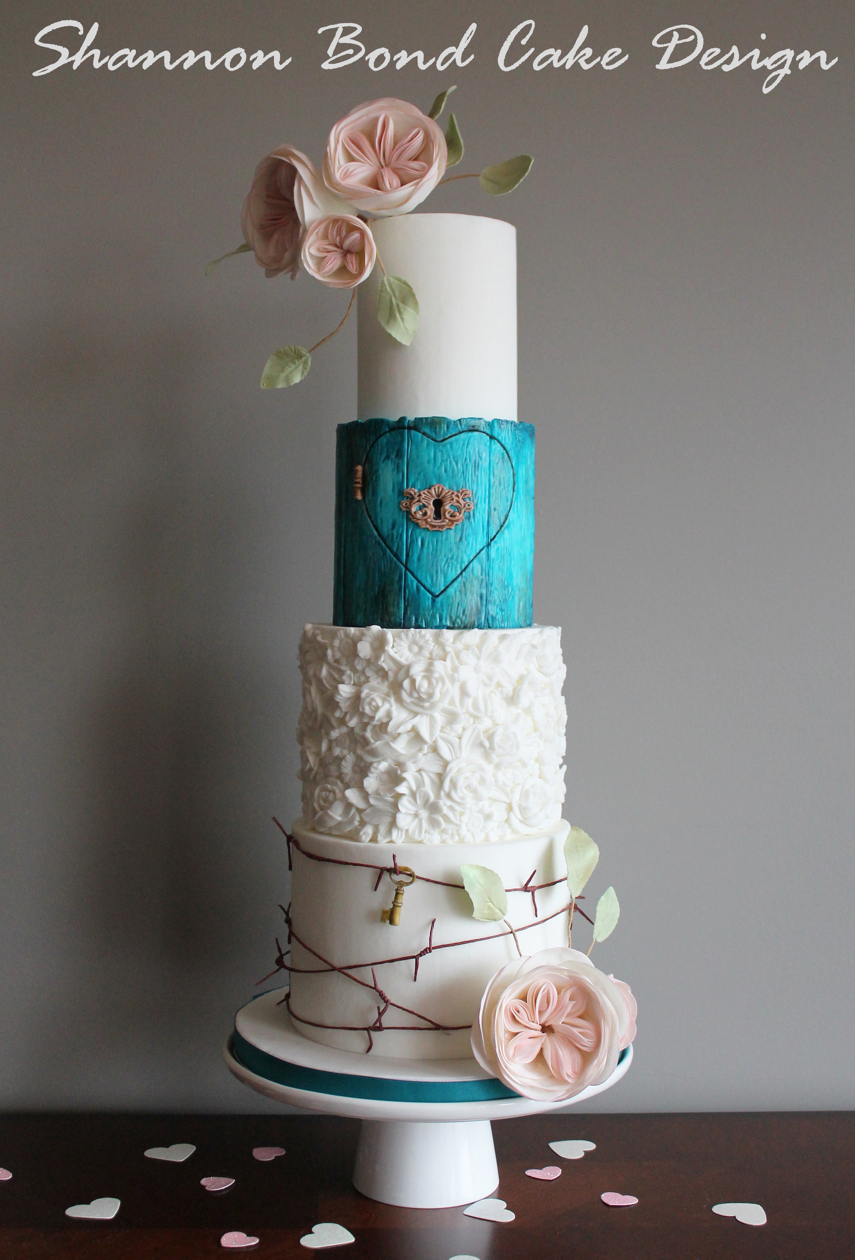 a kansas city wedding cake inspired by the country shannon bond cake design kansas city. Black Bedroom Furniture Sets. Home Design Ideas