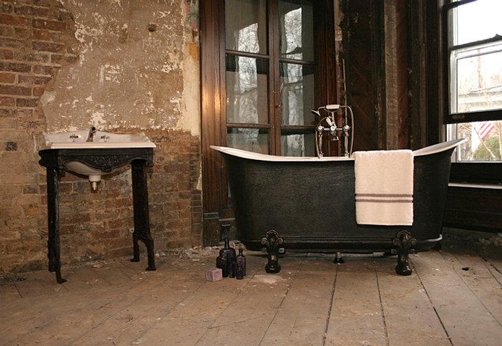 Original Antique Baths and Vintage Tubs - Clawfoot tubs - Pedestal tub