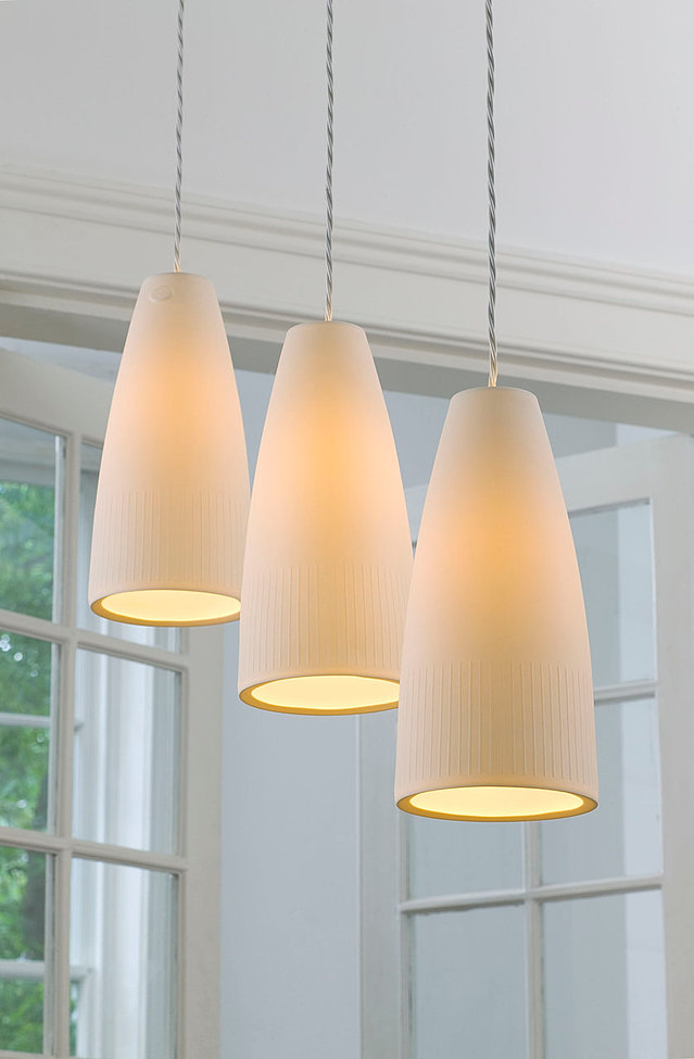 porcelain lighting. sylph shade porcelain lighting