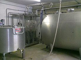 Sala refrigerazione latte