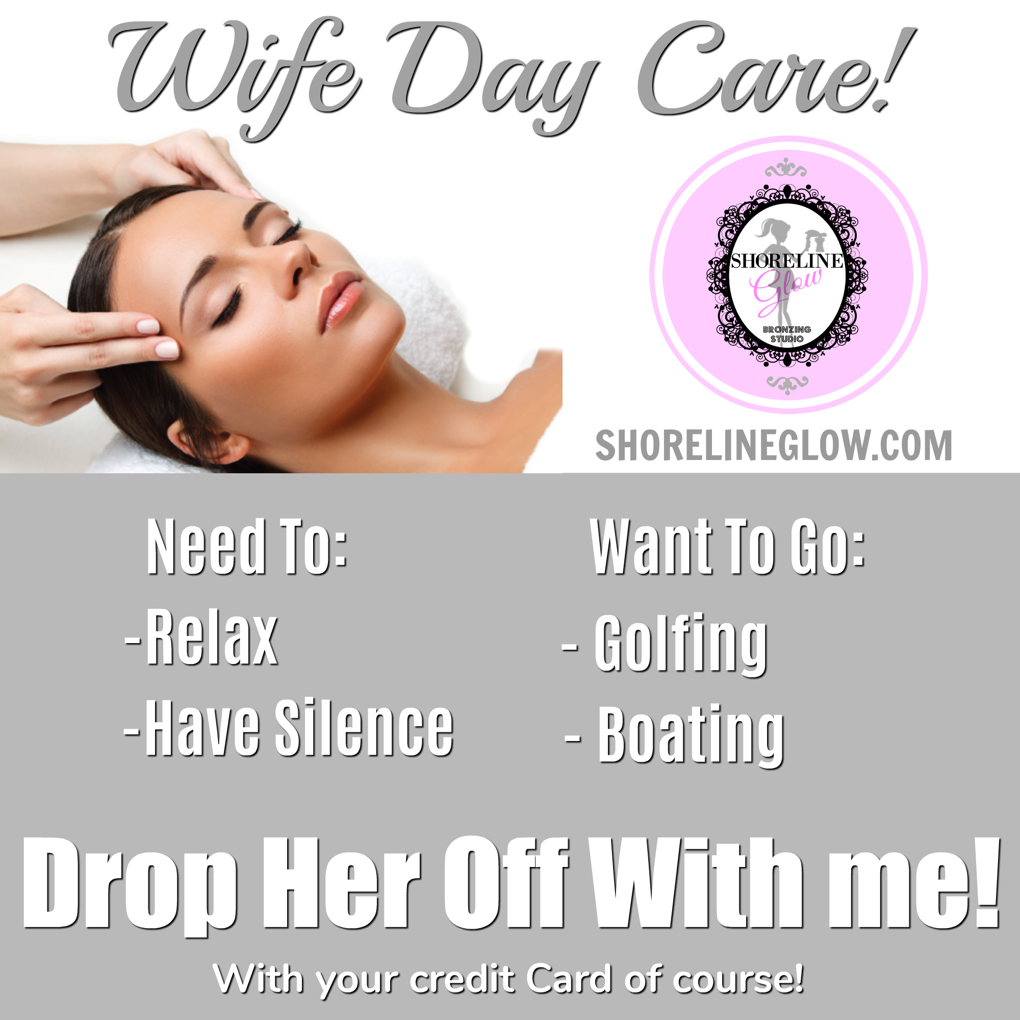 Wife Day Care - A Day At The Spa | Facials, Spray Tan, Waxing | ON ...