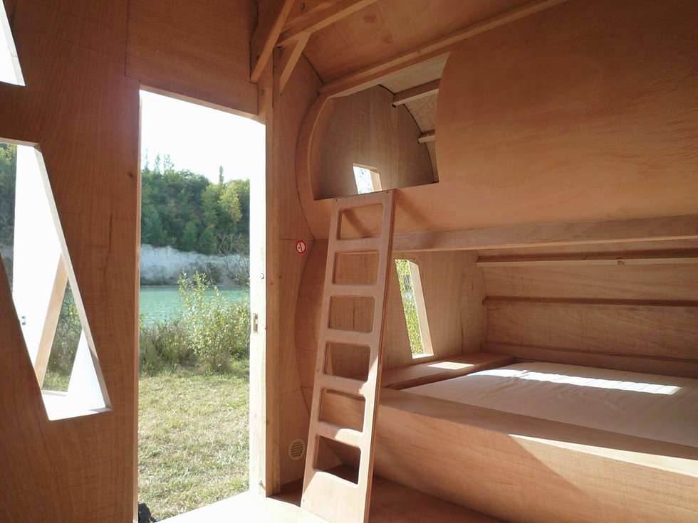 Micro architecture nuage - cloud hut