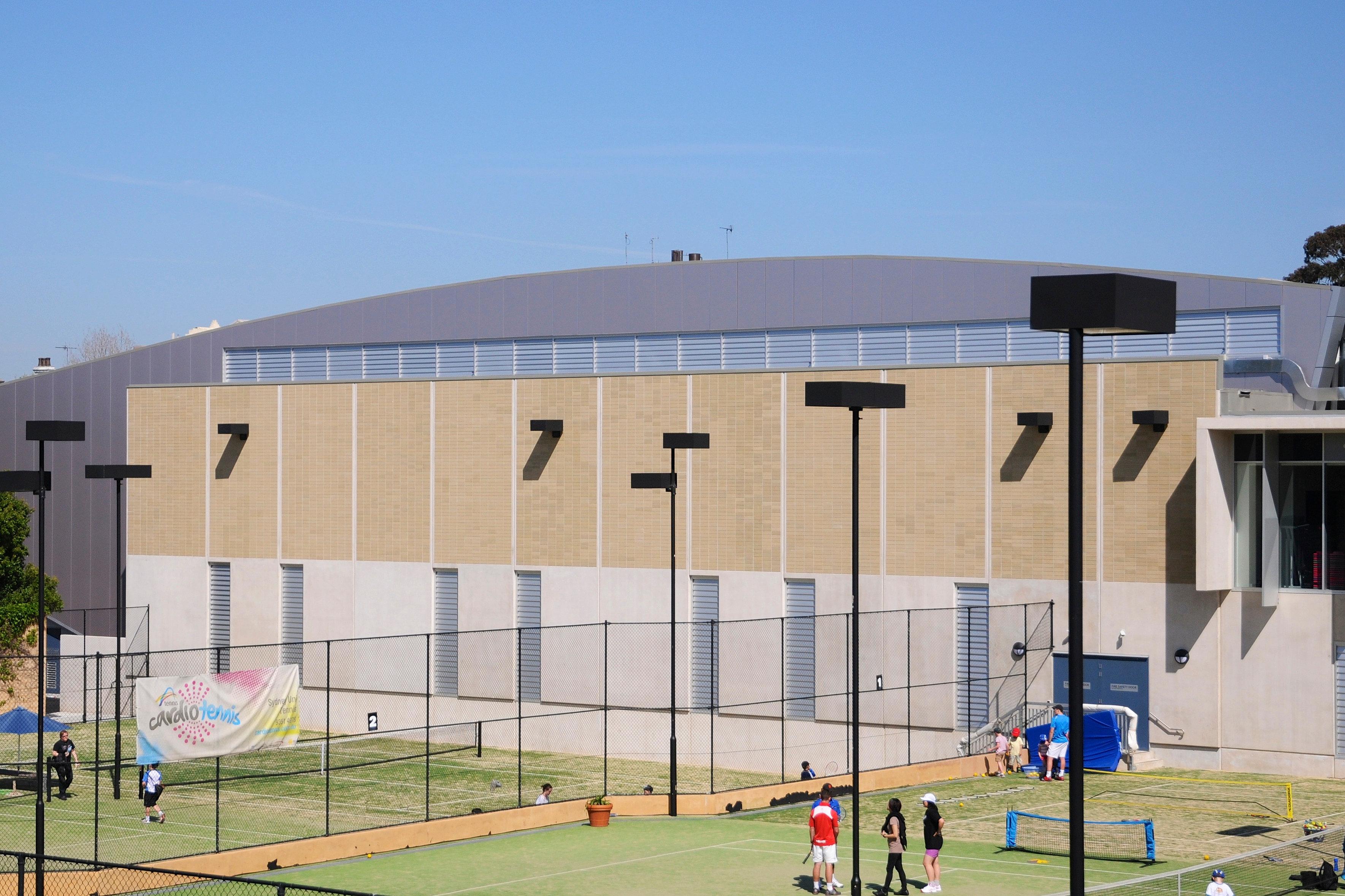 Robertson's Building Products | Sydney University Gymnasium