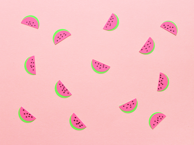 HOW TO MAKE WATERMELON STICKERS whitehousecrafts