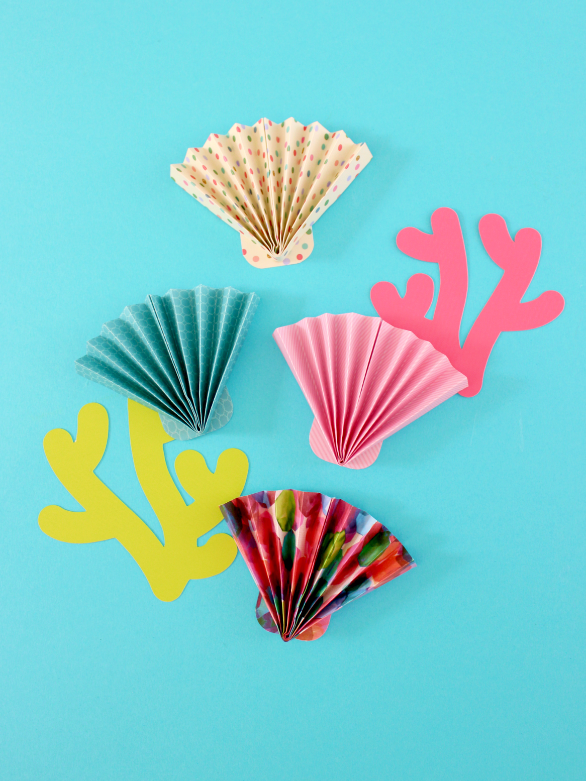PAPER ACCORDION SEA SCALLOP (IN 5 MINUTES!)