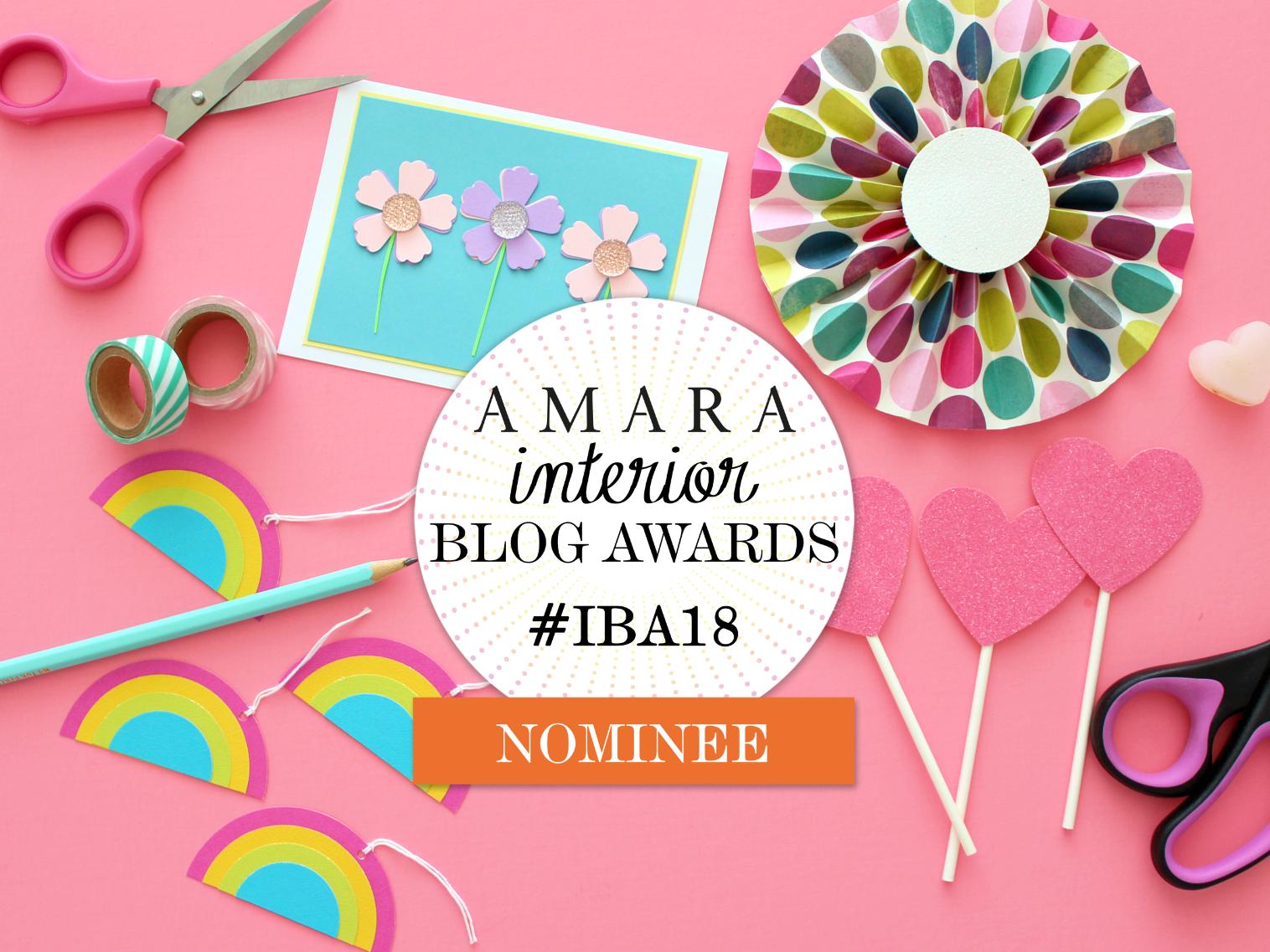 VOTE WHITE HOUSE CRAFTS FOR BEST CRAFT BLOG! (AMARA INTERIOR BLOG AWARDS #IBA18)