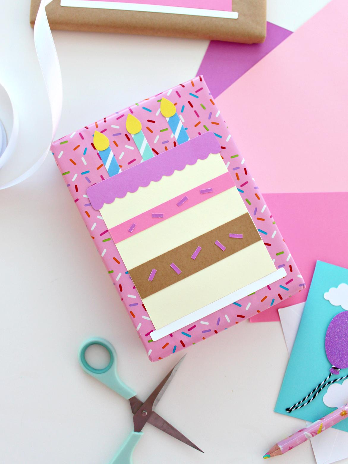 DIY BIRTHDAY CAKE PRESENTS