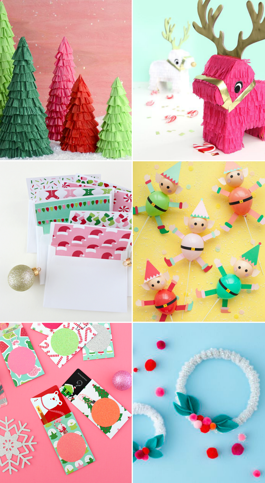 WHAT I'M PINNING: 1000 CHRISTMAS CRAFTS!