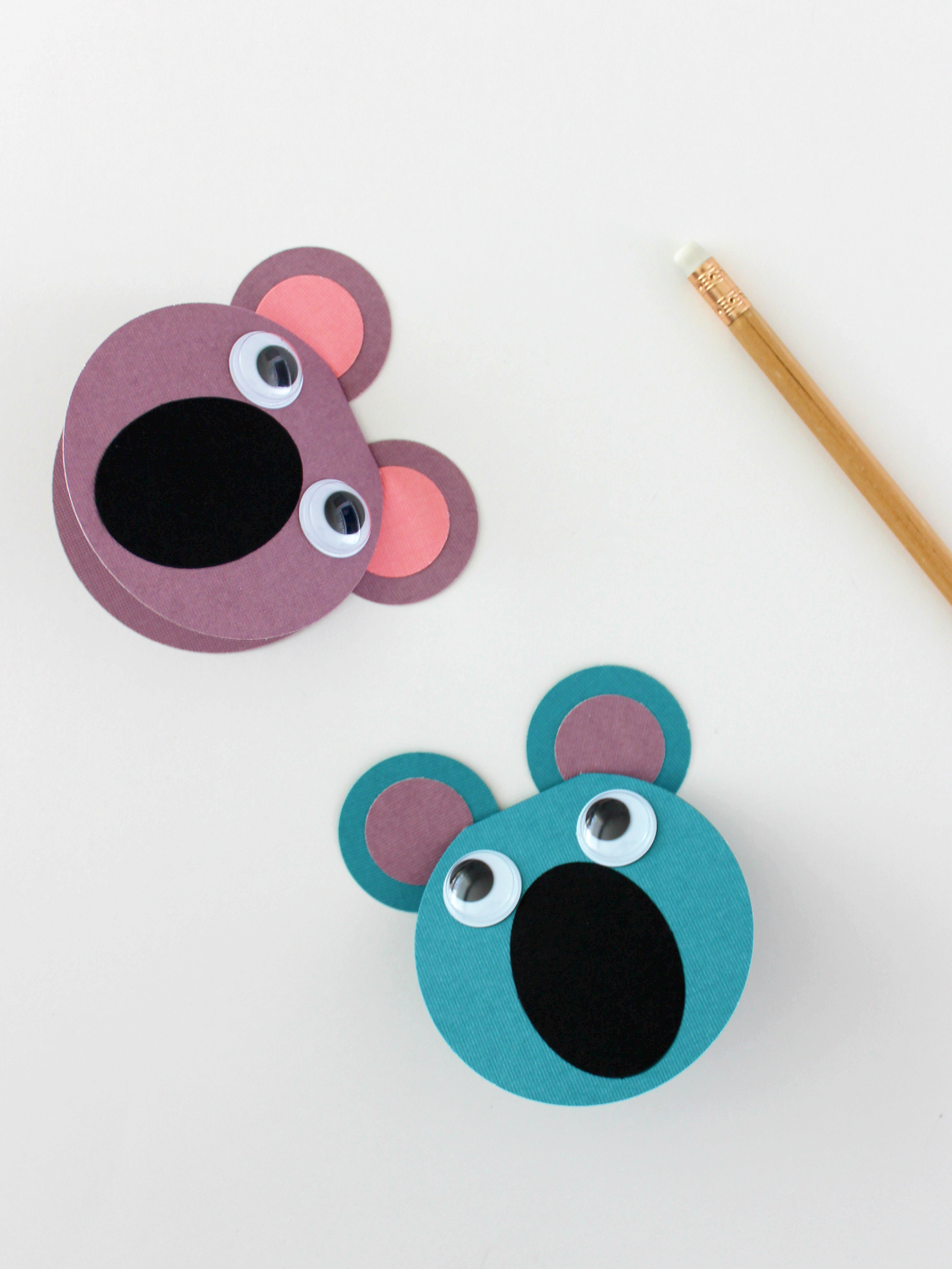 MAY PAPER CRAFT CHALLENGE DAY 22: DADDY KOALA CARD