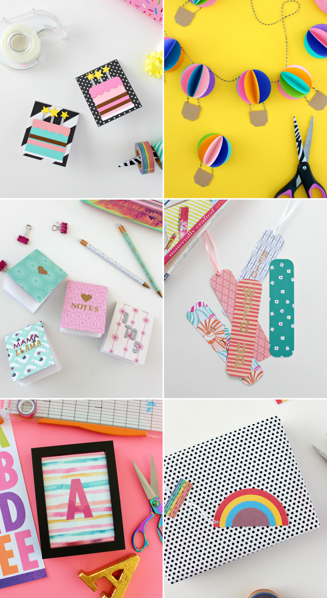 MAY PAPER CRAFT CHALLENGE: YOUR TOP 5 CRAFTS