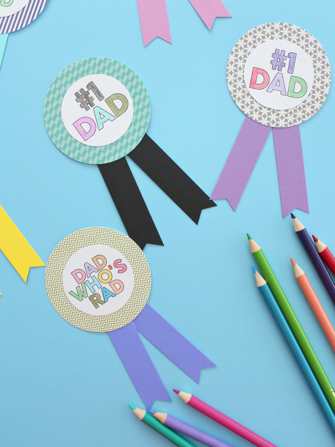 FATHER'S DAY PRINTABLES & CRAFTS