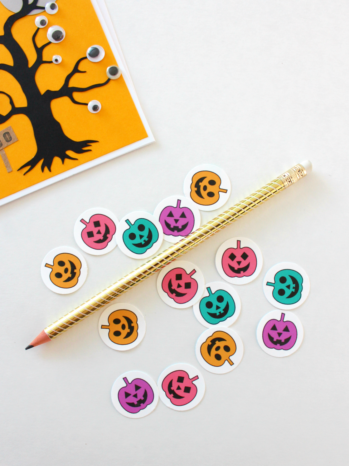 PRINTABLE JACK-O-LANTERN ENVELOPE SEALS