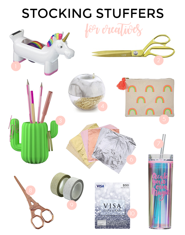 STOCKING STUFFERS FOR THE CREATIVE MAKER