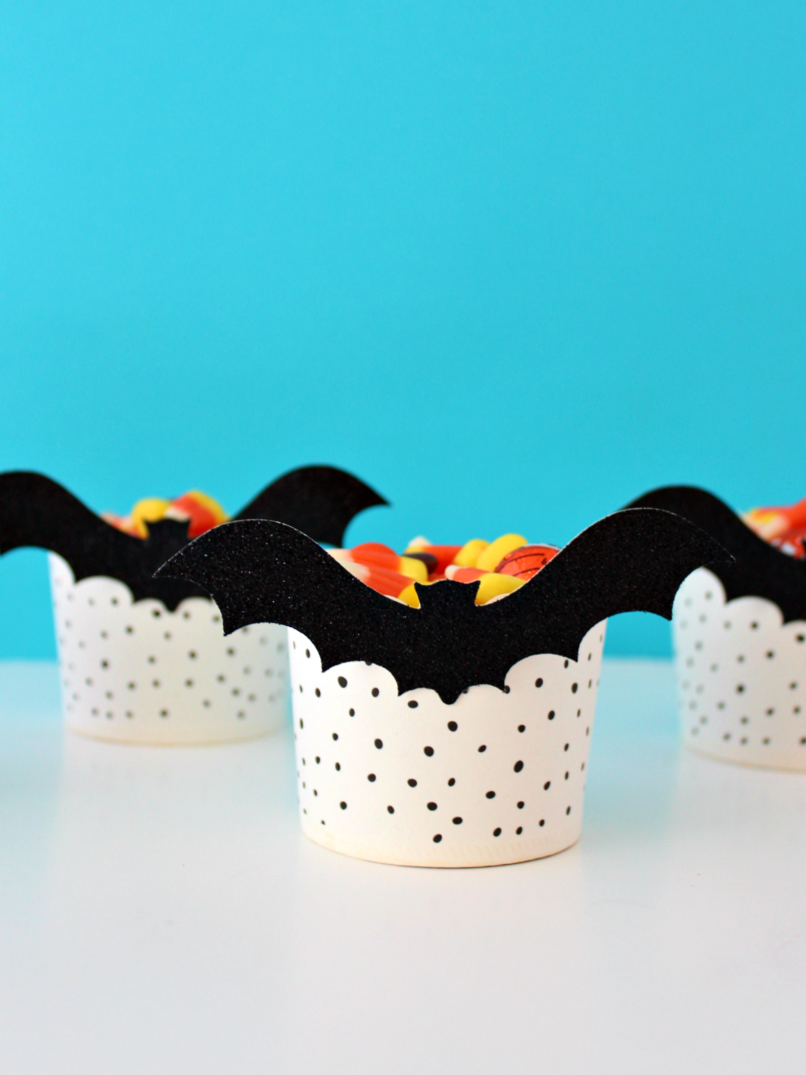 BATTY CANDY CUPS (WITH FREE CUT FILE)