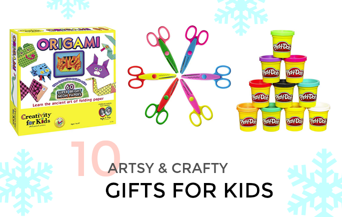 10 ARTSY & CRAFTY GIFTS FOR KIDS (WITH AMAZON PRIME)