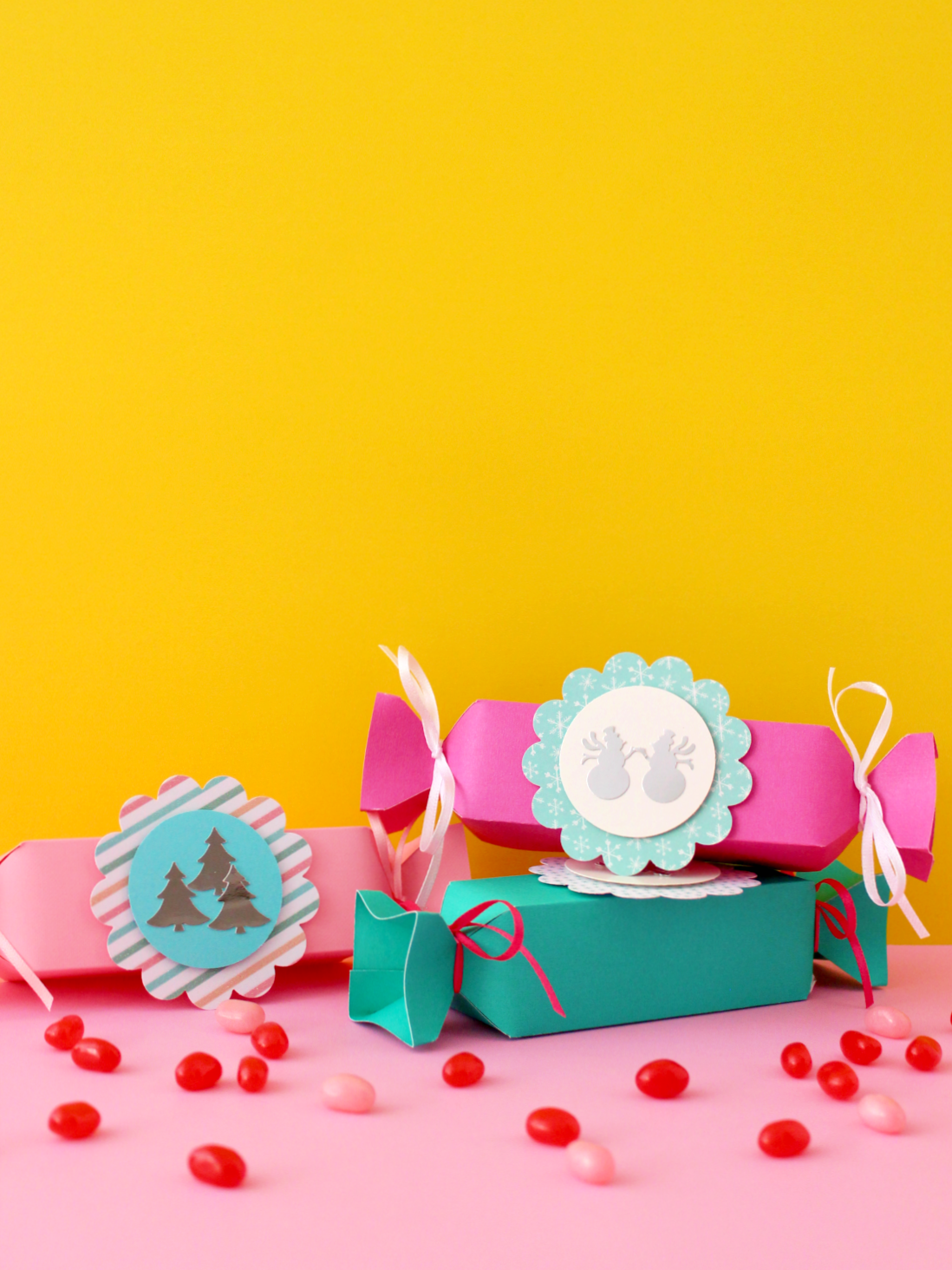 FESTIVE CANDY BOXES