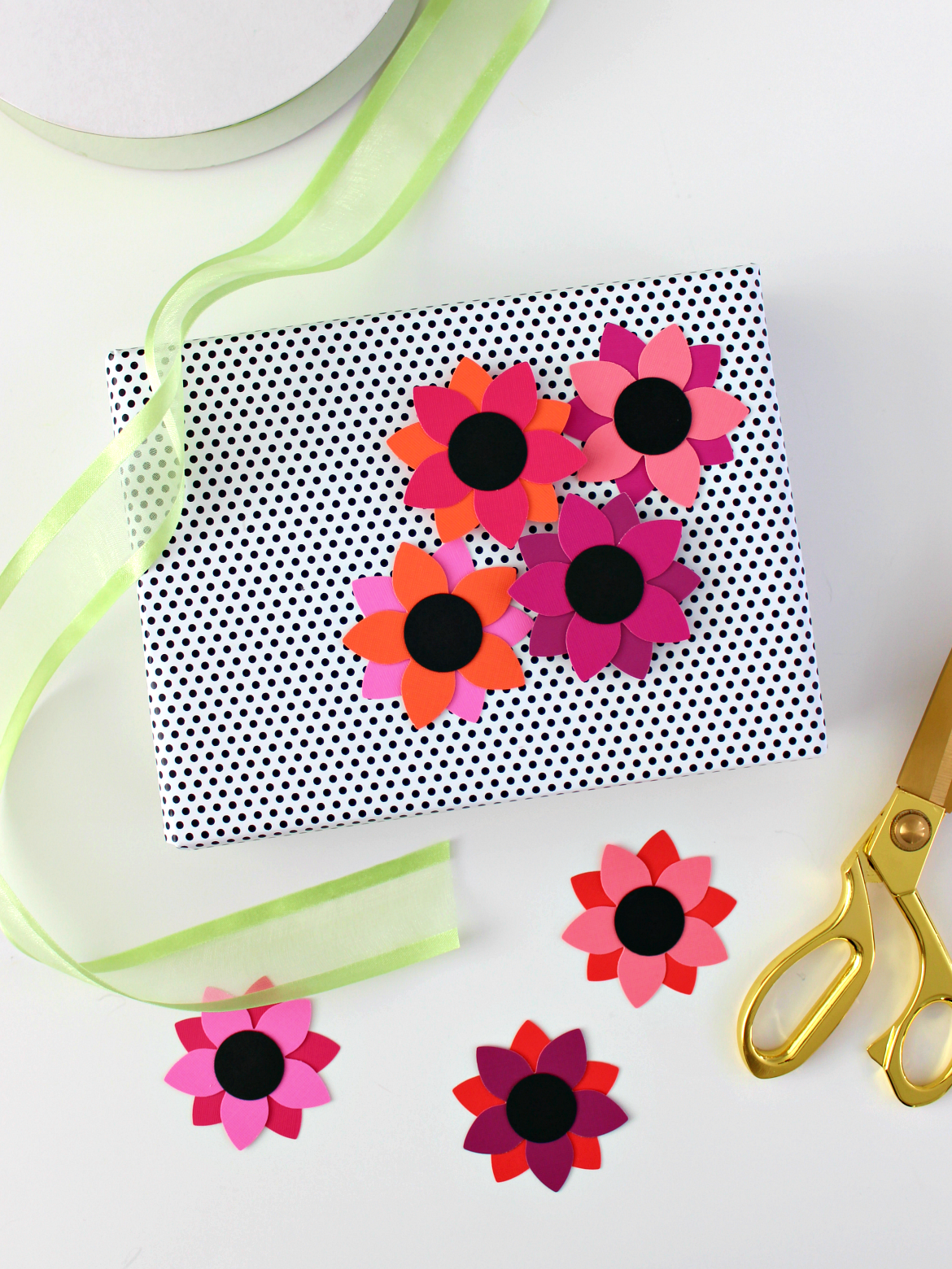 Simple Paper Flowers With Tropical Vibes Obsigen