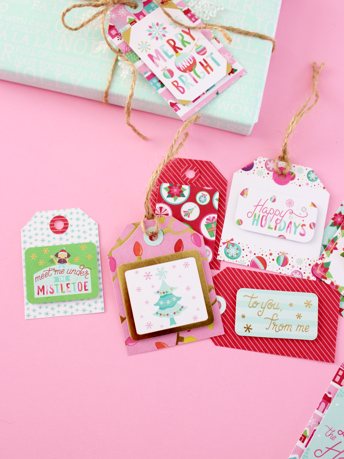 SCRAPBOOK MIX & MATCH GIFT TAGS WITH WE R MEMORY KEEPERS